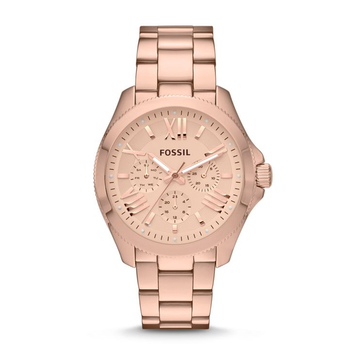 AM4511 - Fossil Cecile Multifunction Stainless Steel Watch - Rose $145.00