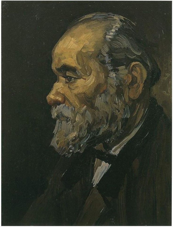 Vincent van Gogh Portrait of an Old Man with Beard Painting
