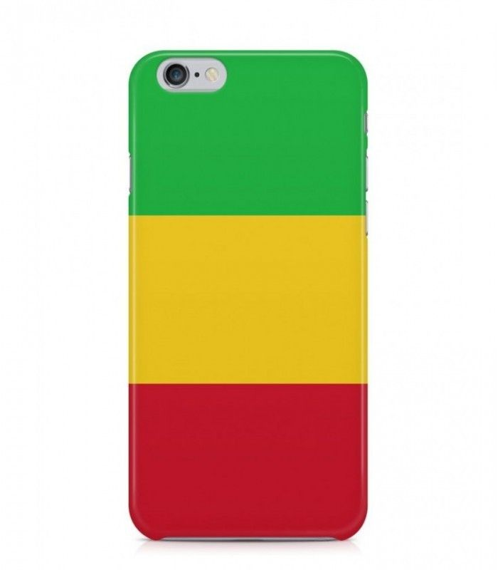 Malian or Malinese Flag 3D Iphone Case for Iphone 3G/4/4g/4s/5/5s/6/6s/6s Plus - FLAG-ML - FavCases