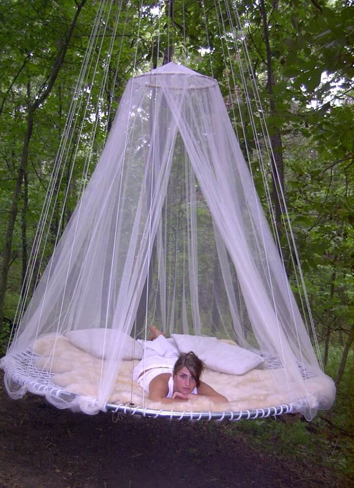 Trampoline Bed Yes Please Outdoor Hanging Bed