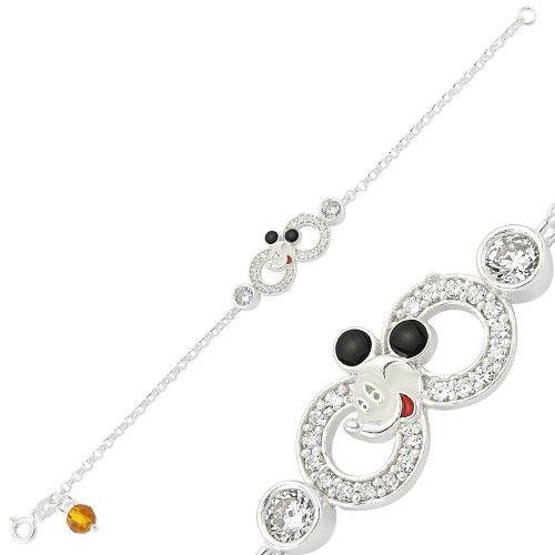 #ŞuAnNeİsterdimBiliyormusun Miki Mouse Sonsuzluk Çocuk Bileklik  http://www.besengumus.com/Bebek-ve-Cocuk-Takilari/Miki-Mouse-Sonsuzluk-Cocuk-Bileklik