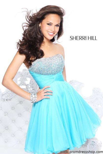 Sherri Hill Short 11018 at Prom Dress Shop
