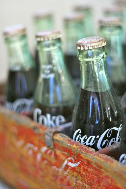 I still love it when I go to a cafe and they serve coke in these bottles! Takes me back to fish and chip Friday's!