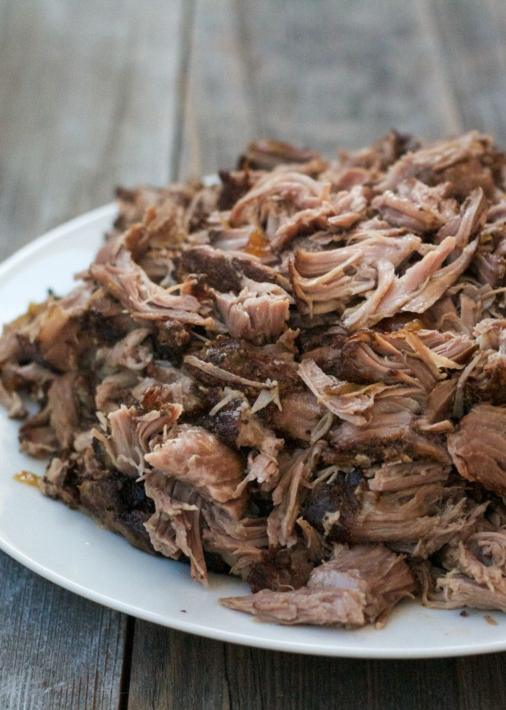 The most juicy, flavorful and delicious slow-cooker pulled pork! Paleo friendly.
