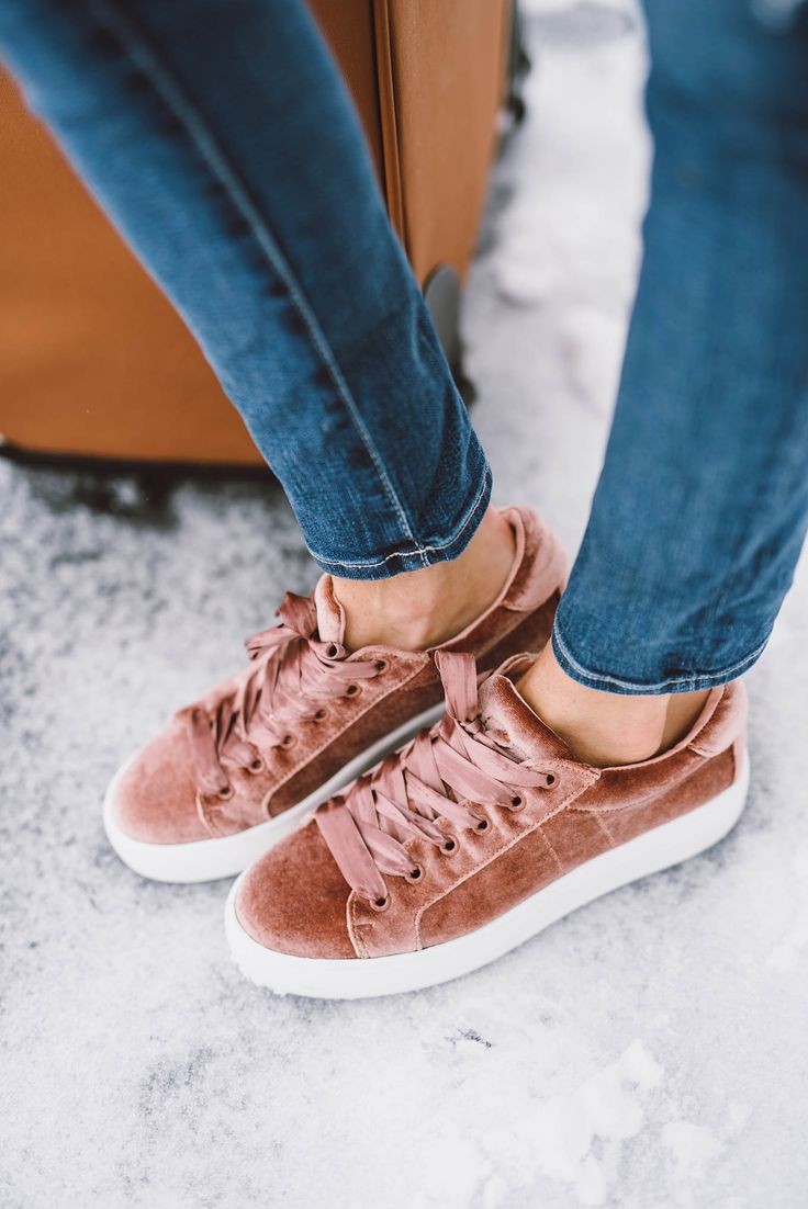 Steve Madden Women's Bertie Velvet Lace-Up Sneakers - Sneakers - Shoes -  Macy's