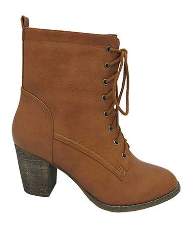 Another great find on #zulily! Rust Alpha Ankle Boot by Yoki #zulilyfinds