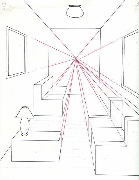 Ao fazer um desenho usando perspectiva de um ponto, você irá aprender a fazer um espaço bidimensio...