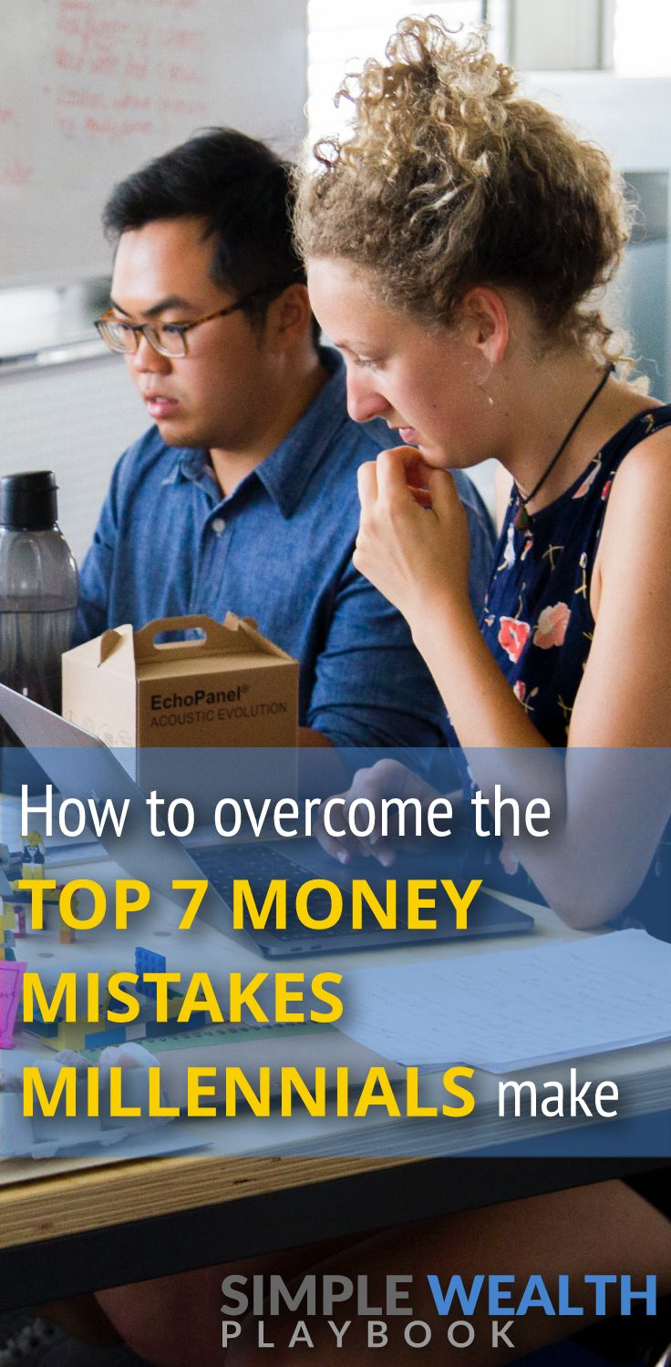 No one's financial situation is perfect, including millennials. Learn about the 7 biggest money mistakes specific to millennials and how to improve your finances!