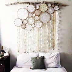 How awesome is this!!!!!!! I'm sure you would have sweet dreams with this wall art!