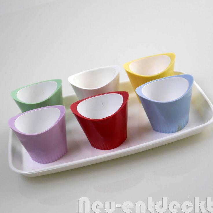 Midcentury egg cups