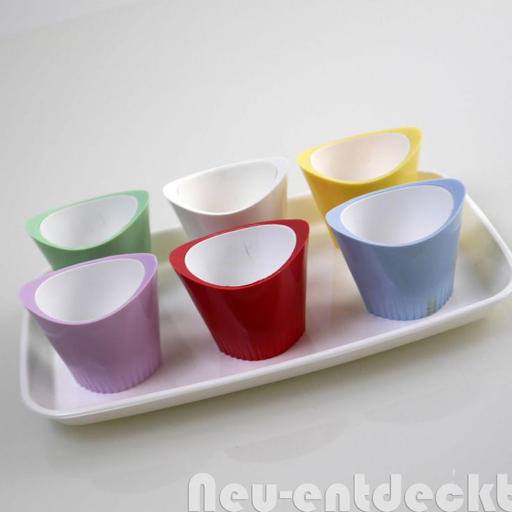 Midcentury egg cups