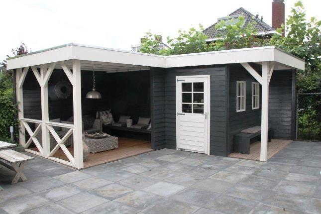 Jan de Boer Tuinhuizen | Tuinhuis l-vorm