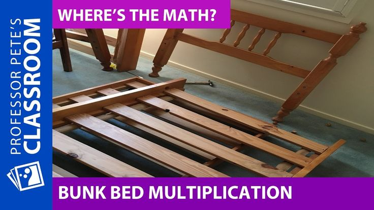 Where's the Math #23 for Grades 2-4: Bunk Bed Multiplication