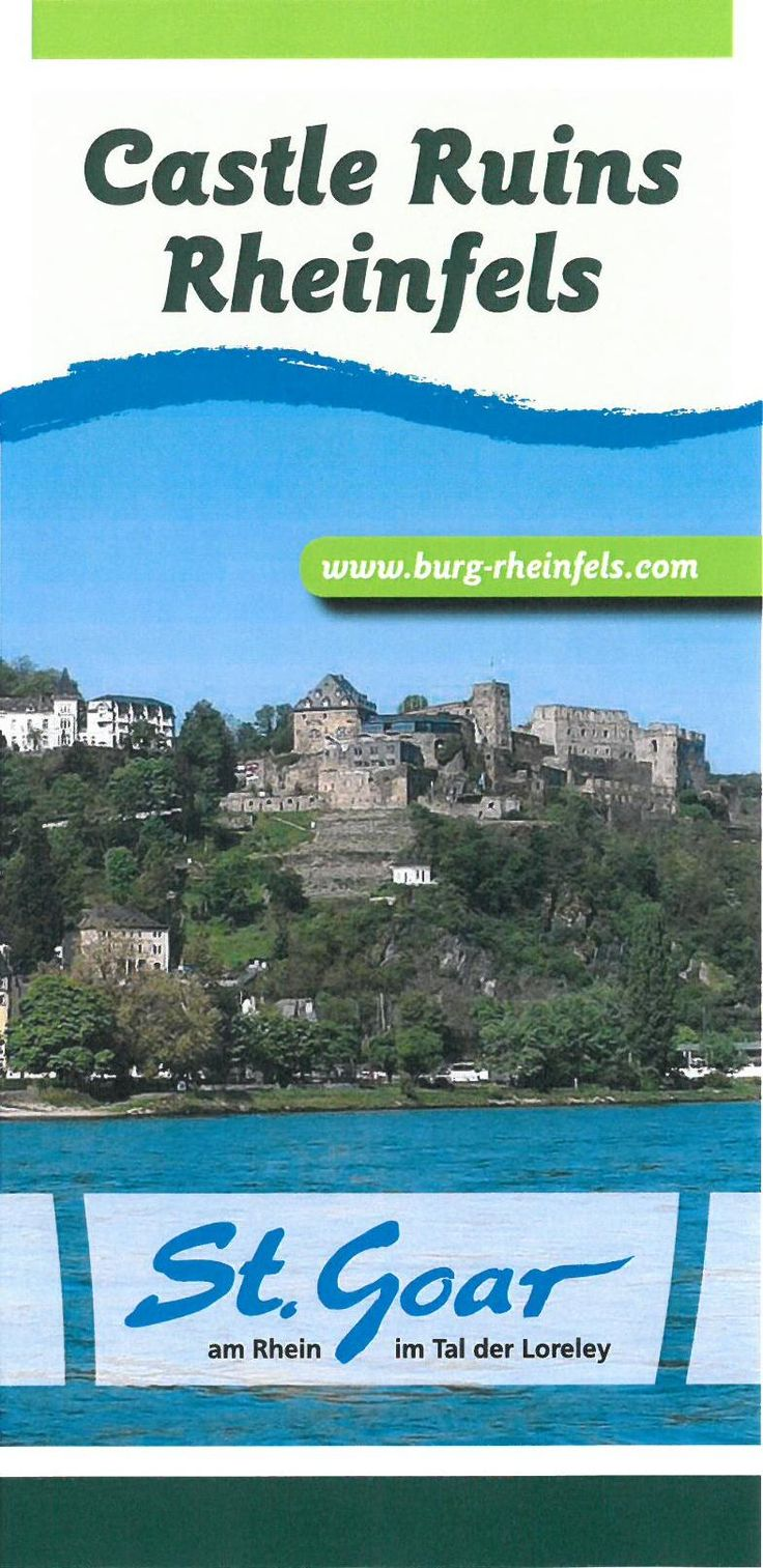 Western Germany Castle Rheinfels - St Goar  Good for kids
