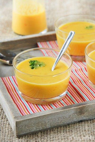 Crema de zanahoria a la naranja - L´Exquisit