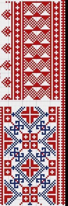 Folk - cross stitch
