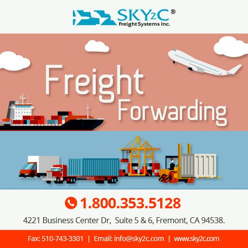 Sky2c provides domestic and international #freightforwarding , #logistics and customs clearance service. Contact us today for a free quote.