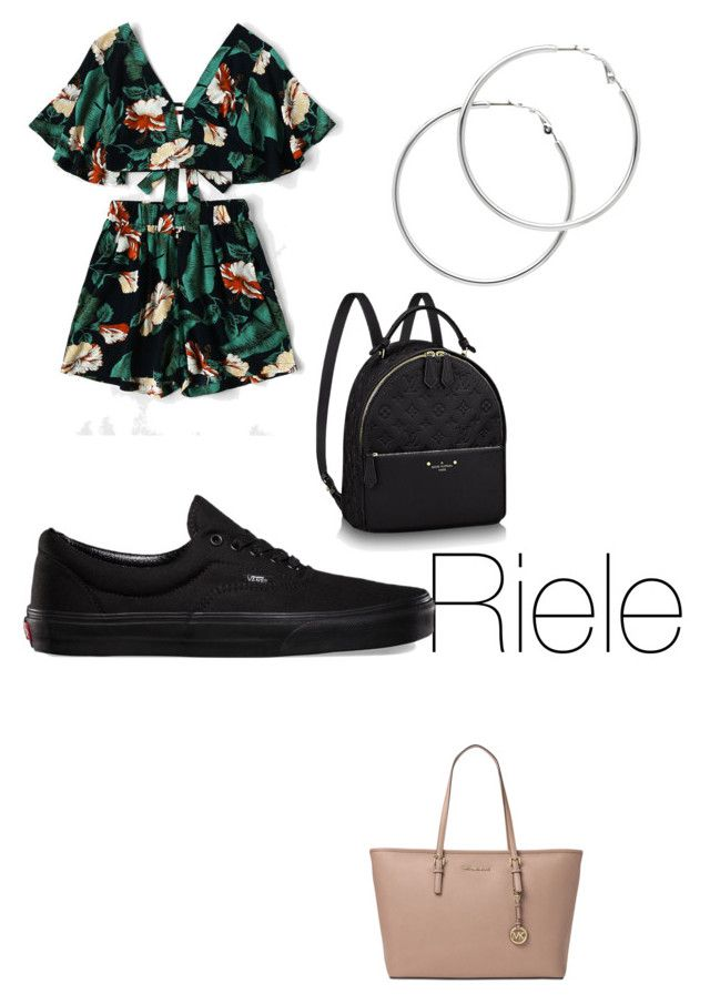 """""""Outfit number something"""" by jahtya on Polyvore featuring Michael Kors, Vans and Melissa Odabash"""
