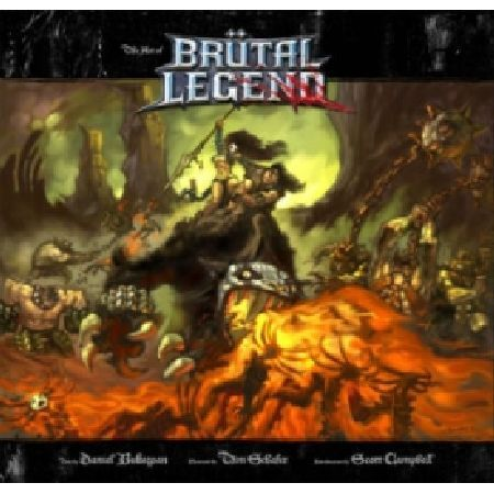 The Art of Brutal Legend Behold the Power of Rock! The Art of Legend is the monumental collection of metal-themed paintings drawings and sketches from the creative talents of Tim Schafer and the Double Fine Art Team Lavishly  http://www.MightGet.com/january-2017-13/the-art-of-brutal-legend.asp
