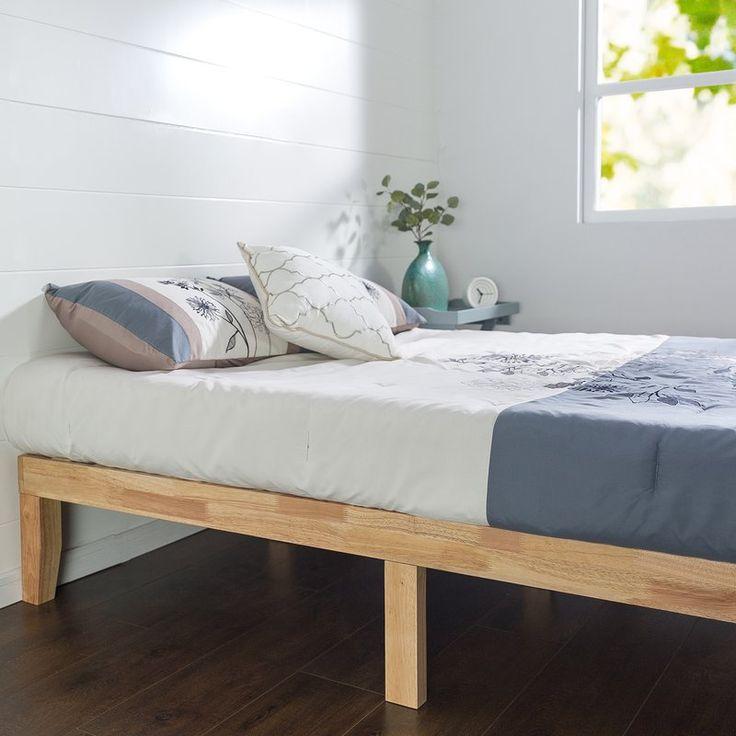 Best 25 Wood Platform Bed Ideas Only On Pinterest