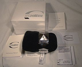 Roberto CAVALLI 4 FACE LADY'S STAINLESS WRISTWATCH