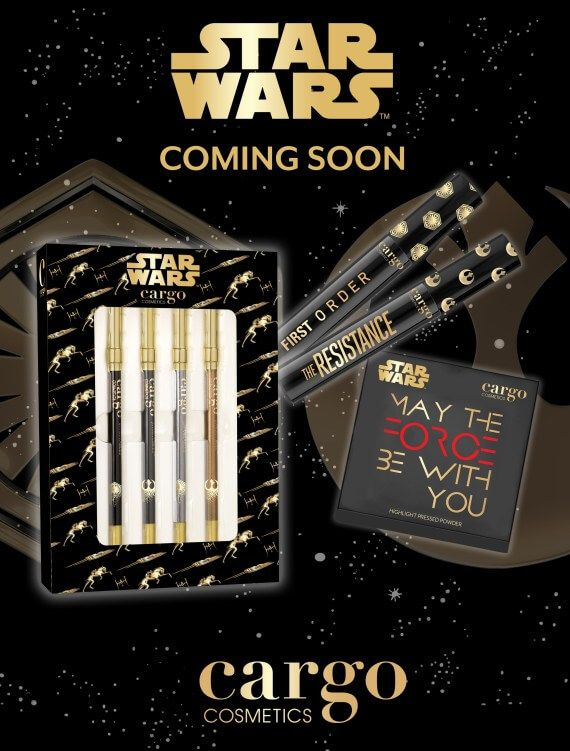 Each season, Cargo Cosmetics journeys to a different destination as a nod to the free spirit of the independent traveler. For Fall/Holiday 2017, the beauty brand will embark on an intergalactic voyage transporting consumers to a galaxy far, far away. The new Star Wars: The Last Jedi film debuts in U.S. theaters on December 15, …