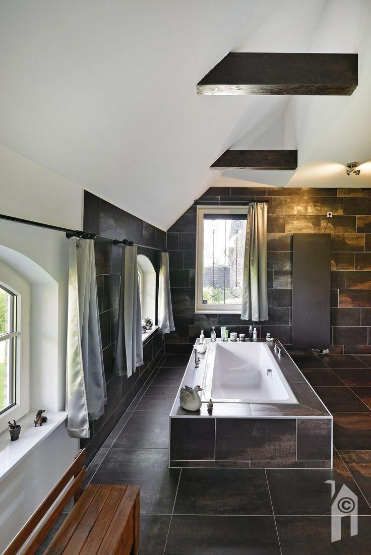 Heerlijke badkamer.