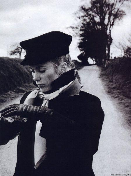 Catherine Deneuve. Photography by David Bailey.
