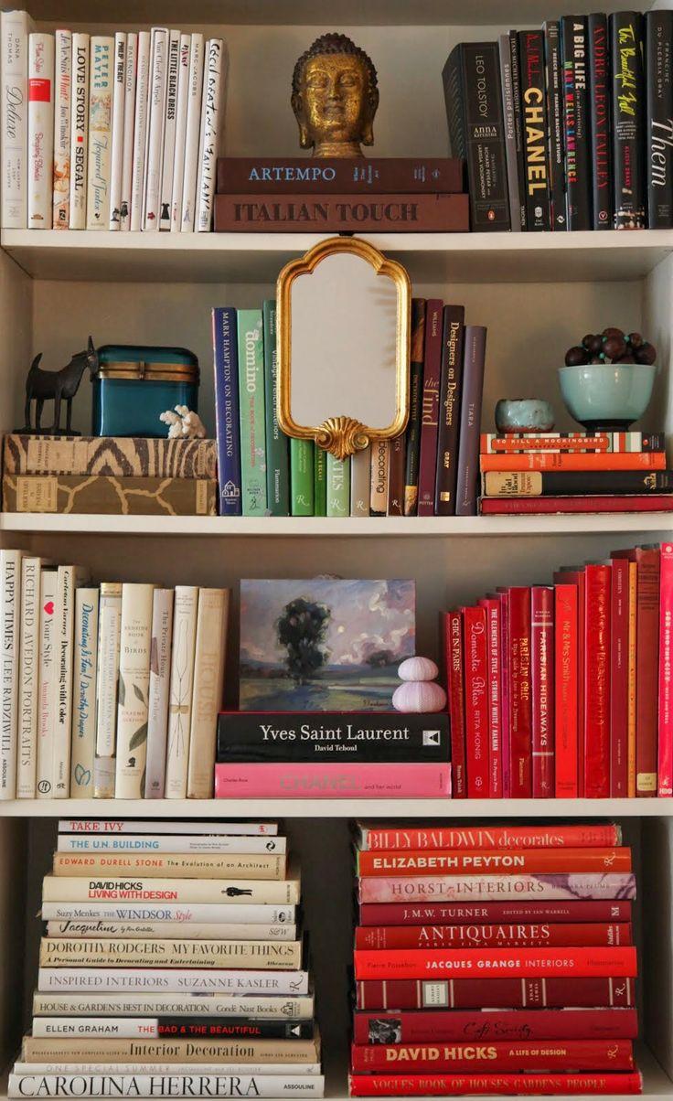 Habitually Chic Bookshelves