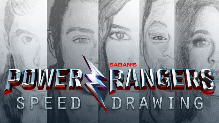 Power Rangers (2017) Mashup! w/ MMPR Theme | Speed Drawing - YouTube  Speed drawing compilation of the five star actors in Power Rangers (2017) featuring the theme song we all know and love too well.  I started this project after binging on speed art videos here on... more on YouTube!