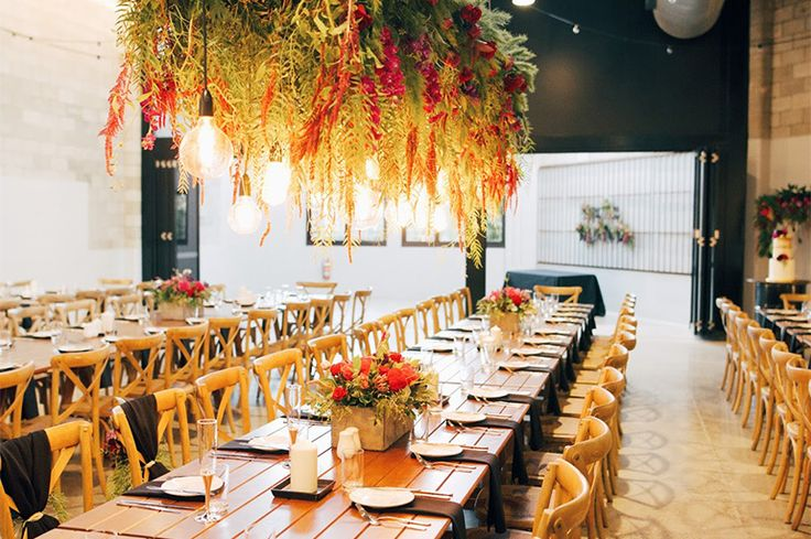 A & J WEDDING RECEPTION, APRIL 2016: Styling, lighting and hire by AVIdeas / Tables by Brandition / Floristry by Unveiling Poppy / Photo by Faith Imhoff Photography