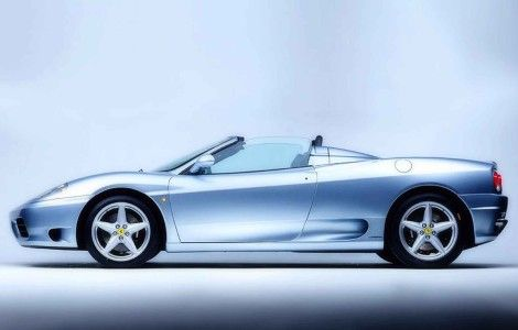 Ferrari Targa Silver