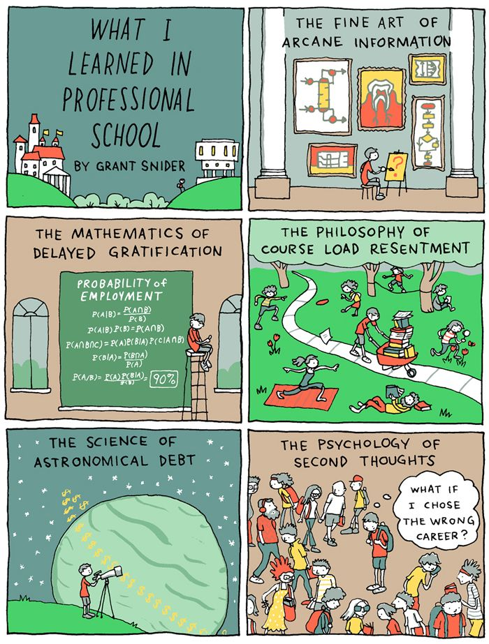 What I Learned in Professional School