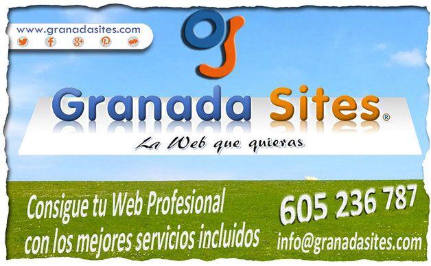 Diseño Web y tiendas online con Granada Sites desde #Atarfe. Contacta y cuéntanos tu proyecto, haremos tu web o tienda online profesional y la optimizaremos para buscadores.