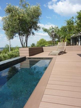 Private home #deck around pool. http://www.eva-tech.com/en/