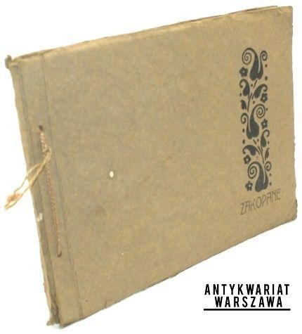 Zakopane (blok fotografii)(Tatry), Blok fotografii sprzed 1914 roku, 12 fotografii podklejonych na sztywnym kartonie, http://antykwariatwaw.pl/zakopane-blok-fotografii-tatry