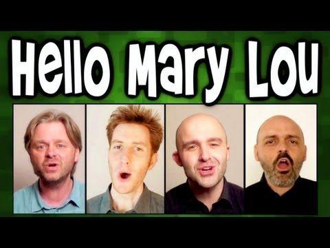 Hello Mary Lou - A Cappella Barbershop Quartet cover - Trudbol / SgtSonny / Enricato r/ Stanzamuziek via YouTube