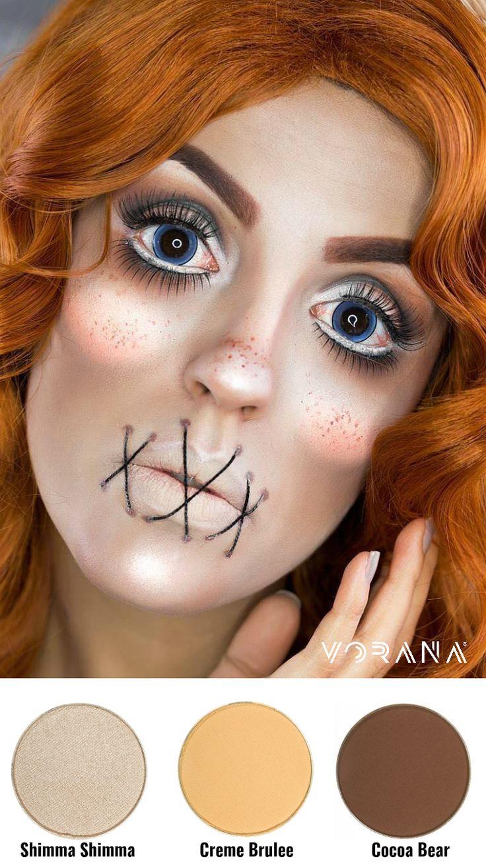 Logra este look con Makeup Geek. #Fantasia #Maquillaje #Sombras