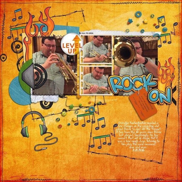 """Kate Hadfield Designs Creative Team inspiration: """"Srsly Stoked"""" 