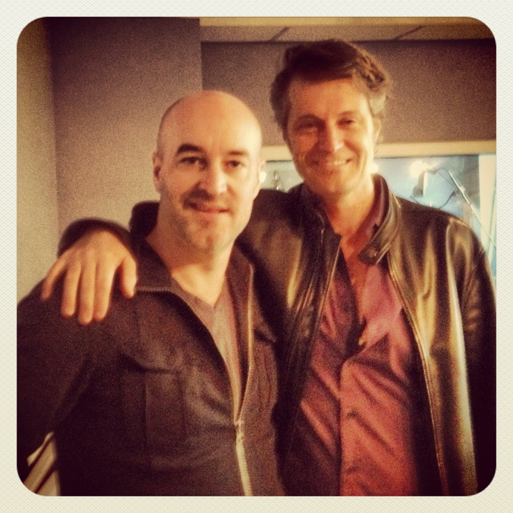 Jim Cuddy of Blue Rodeo stopped by boom 97.3 studios