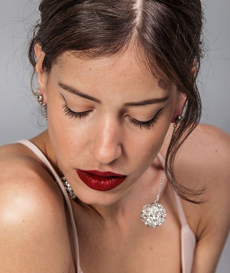 Carol Silver Earrings - Handmade by myfashionfruit.com