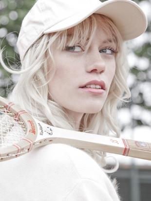 """""""Summer Games""""  Model: Camilla Lehmann (Scoop)  Stylist: Celine Albert  Make Up: Adeleine Kreiberg"""