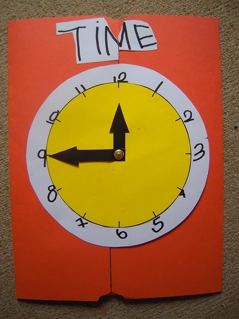 lapbook on measurements of time