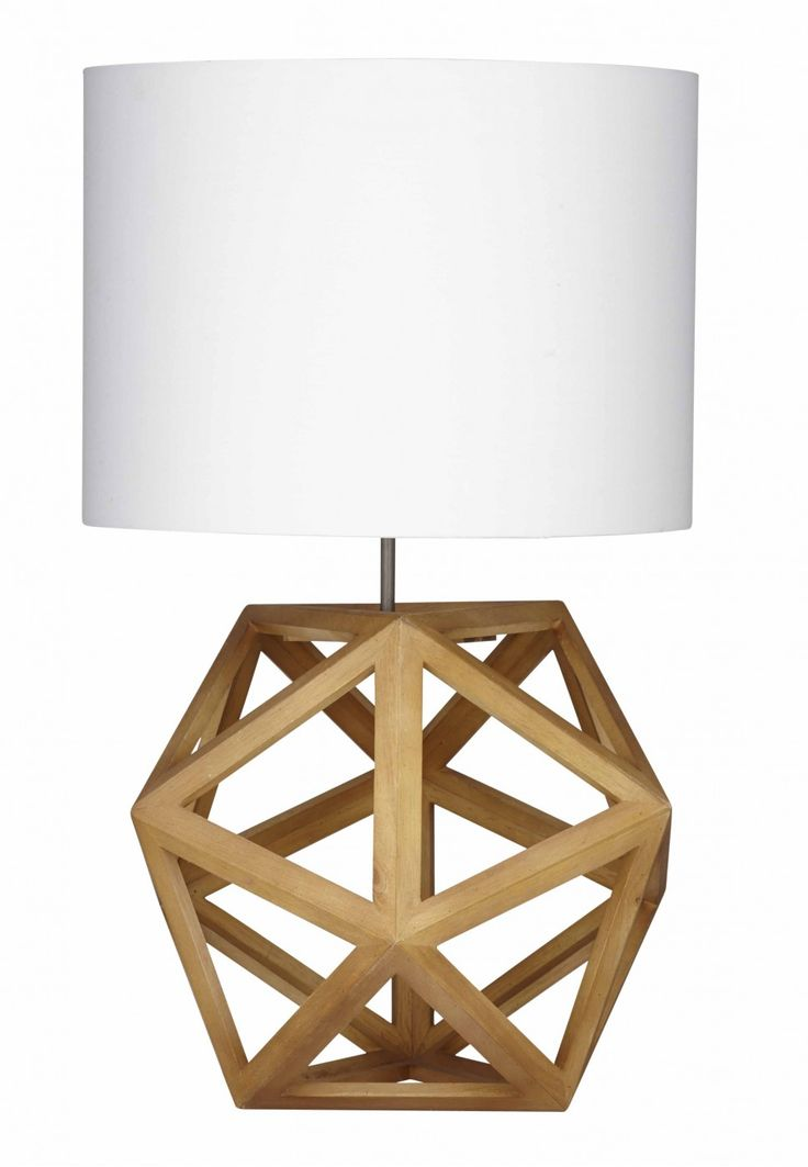 $385 for pair Create a unique graphic look for your space with the fractal geometry of our Hexagon Lamps. Open scandi bases bases provide sculptural interest and a focal point for a console or side tables. Keep the room restrained avoiding any clutter. Think natural materials and a neutral palette.