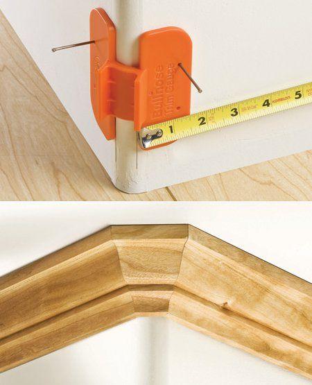 Easier Molding Installation On Bullnose Corners | Toolmonger