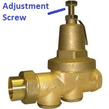 Some houses have pressure reducing valves on the supply line, which are used to control the water pressure inside the house...