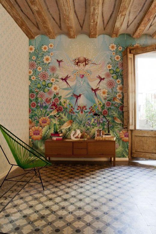 14 besten mural Bilder auf Pinterest - schöner wohnen tapeten wohnzimmer