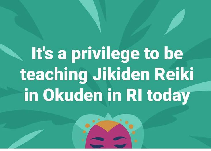 """""""I am honored to have the privilege to be teaching Jikiden Reiki in Okuden today in Rhode Island.…"""""""