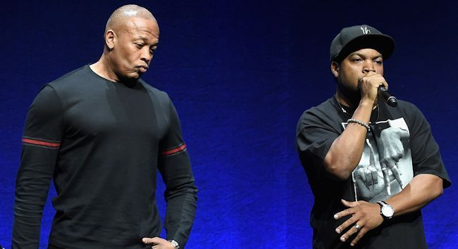 Seems like it was just yesterday Suge Knight ran over someone on the Straight Outta Compton set, leaving a man dead and a trail of craziness in his wake.  When Terry Carter's family issued a wrongful death lawsuit against Knight, they lumped in Dr. Dre and Ice Cube as well.  While Cube and Dre didn't