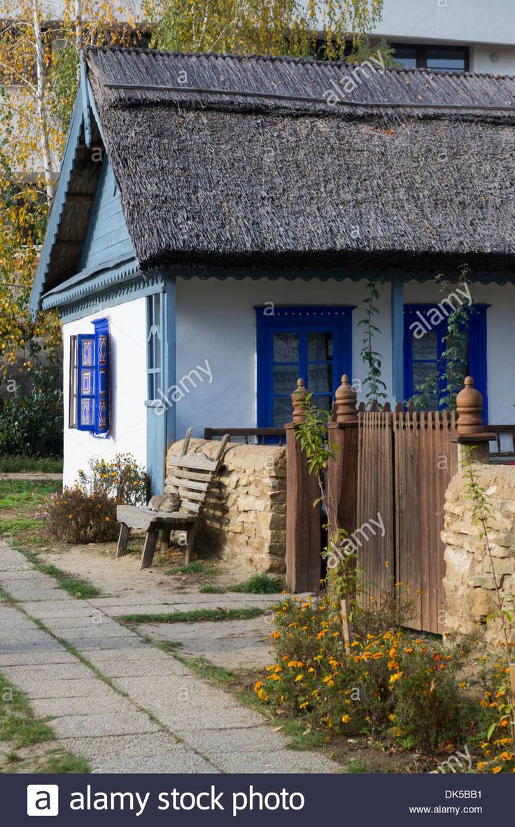 Romanian Traditional House From Danube Delta Stock Photo, Royalty Free Image: 63428261 - Alamy
